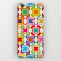 square iPhone & iPod Skins featuring Square by Helene Michau