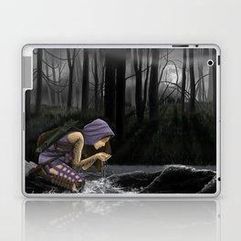 Huntress in the woods Laptop & iPad Skin