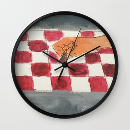 We the Pawns Wall Clock