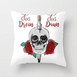 Jus Drein Jus Daun  Throw Pillow
