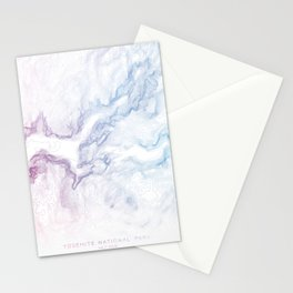 Yosemite National Park Half Dome Print Stationery Cards