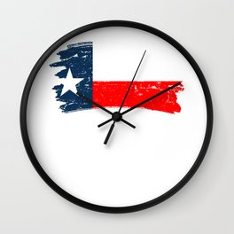 Don't California My Texas Repulican Wall Clock