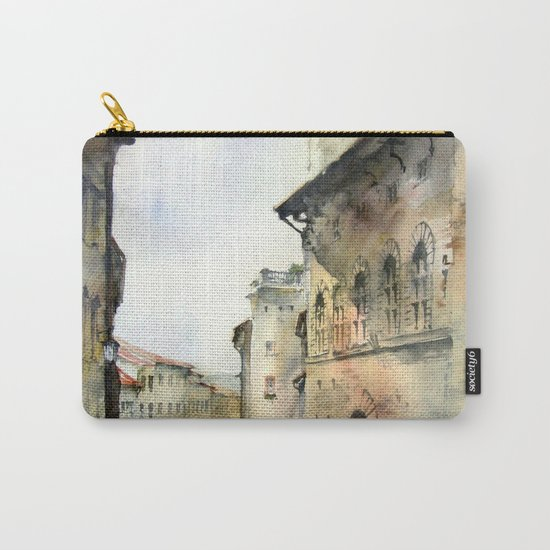 Italy oldtown Arezzo Carry-All Pouch