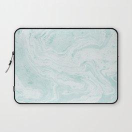 Seaforam Marble Print Laptop Sleeve
