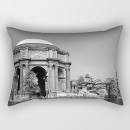 Palace Of Fine Arts - Infrared Rectangular Pillow
