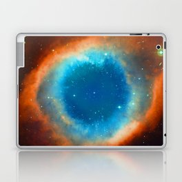 Eye Of God - Helix Nebula Laptop & iPad Skin