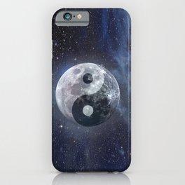 Yin Yang Moon iPhone Case