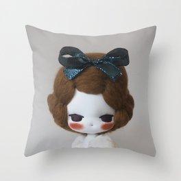 Miss Funfetti Throw Pillow