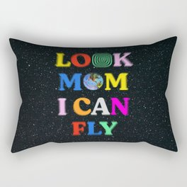 Look Mom I Can Fly Rectangular Pillow