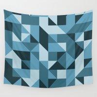 industrial Wall Tapestries featuring Industrial by Matt Borchert