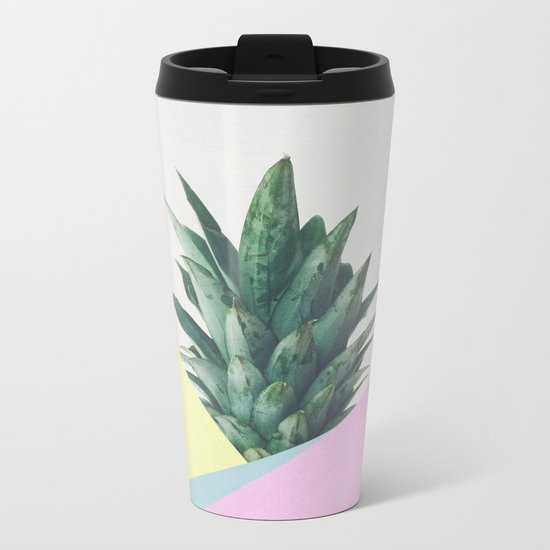 Pineapple Dip V Metal Travel Mug