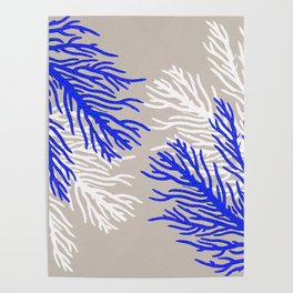 Coral Pattern Poster