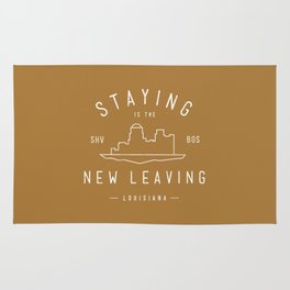 Staying is the New Leaving Rug