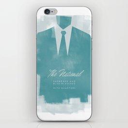The National - Blue Blazered iPhone Skin