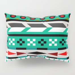 Geometric Aztec Pattern Pillow Sham