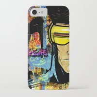 cyclops iPhone & iPod Cases featuring Cyclops by Zoé Rikardo