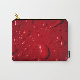 Red Drops Carry-All Pouch