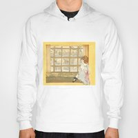 window Hoodies featuring Window by CHAR ODEN