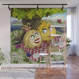 Summer Onion Buddies Wall Mural
