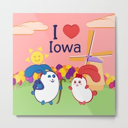 Ernest and Coraline | I love Iowa Metal Print