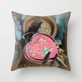 Our Lasting Love Glows On And On Throw Pillow