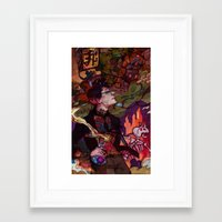pacific rim Framed Art Prints featuring Pacific Rim by Sophie'sCorner