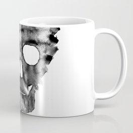 Black skull Coffee Mug