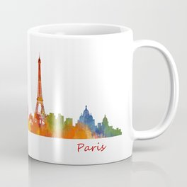 Paris City Skyline Hq v1 Coffee Mug