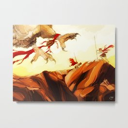 To Touch the Gods Metal Print