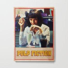 Pulp Fiction - Movie Film Poster Metal Print