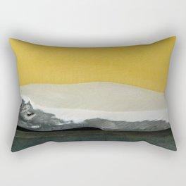 Desert by day Rectangular Pillow