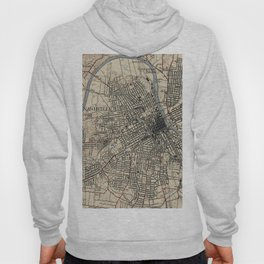 Vintage Map of Nashville Tennessee (1929) Hoody