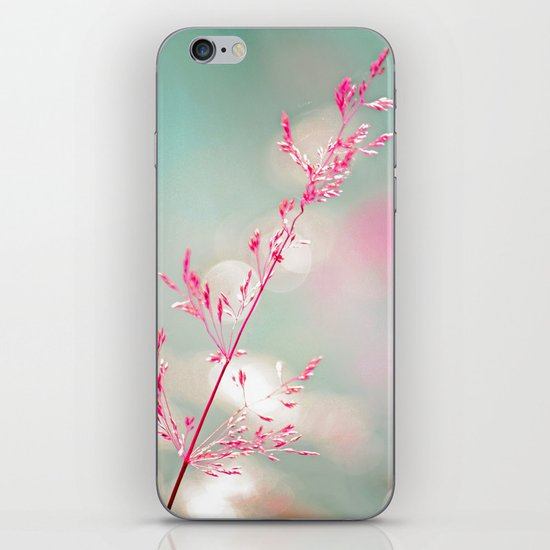 Pink haze iPhone & iPod Skin