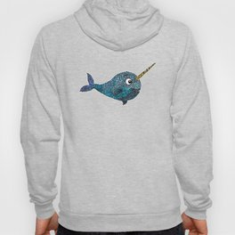 Nelly the Narwhal Hoody