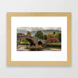 Llanrwst Cottage  Framed Art Print
