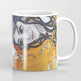 Antara and Meridian: Fire and Darkness Coffee Mug
