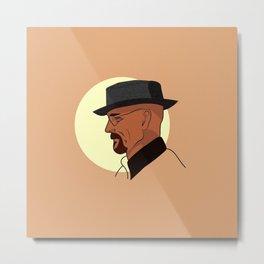 Heisenberg At Sunset Metal Print