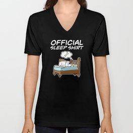 Official Sleepshirt I English Bulldog Unisex V-Neck