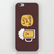 Drinking Buddy iPhone Skin