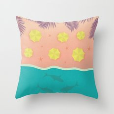The Shark Bay Throw Pillow