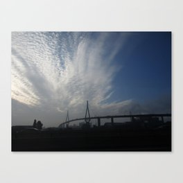 cloud pattern 4 Canvas Print