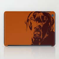 the dude iPad Cases featuring Dude by Brooke Copani