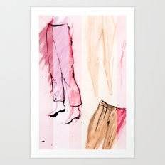This Season: Pants! Art Print