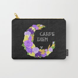Crescent Bloom | Lavender and lemons  Carry-All Pouch