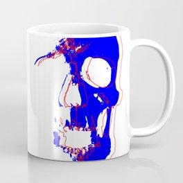 Skull - Blue Coffee Mug