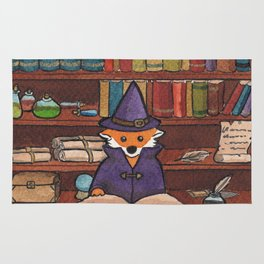 James the Wizard Fox Rug