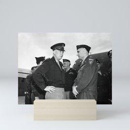Eisenhower and General Lucius Clay - Berlin - 1945 Mini Art Print