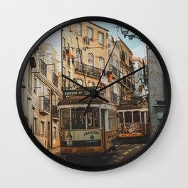 Lisboa, Portugal Wall Clock