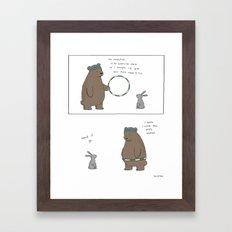 Resolution  Framed Art Print