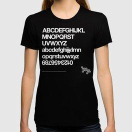 Rare Work Typography Shirt Black T-shirt